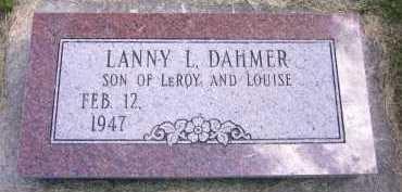 DAHMER, LANNY L. - Sarpy County, Nebraska   LANNY L. DAHMER - Nebraska Gravestone Photos