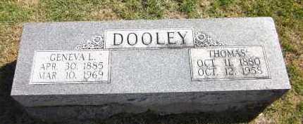DOOLEY, GENEVA L. - Sarpy County, Nebraska | GENEVA L. DOOLEY - Nebraska Gravestone Photos