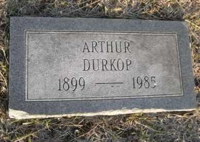 DURKOP, ARTHUR - Sarpy County, Nebraska   ARTHUR DURKOP - Nebraska Gravestone Photos
