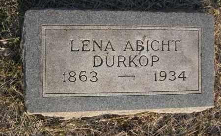 DURKOP, LENA - Sarpy County, Nebraska | LENA DURKOP - Nebraska Gravestone Photos