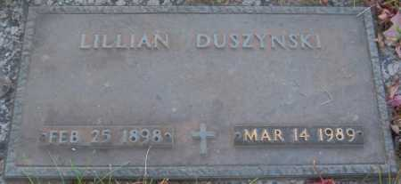 DUSZYNSKI, LILLIAN - Sarpy County, Nebraska   LILLIAN DUSZYNSKI - Nebraska Gravestone Photos
