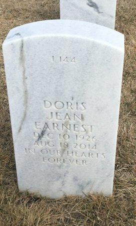 EARNEST, DORIS - Sarpy County, Nebraska | DORIS EARNEST - Nebraska Gravestone Photos