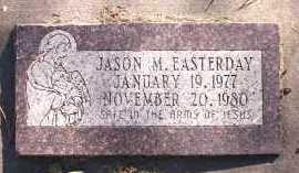 EASTERDAY, JASON M. - Sarpy County, Nebraska | JASON M. EASTERDAY - Nebraska Gravestone Photos