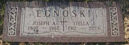 EGNOSKI, JOSEPH A. - Sarpy County, Nebraska | JOSEPH A. EGNOSKI - Nebraska Gravestone Photos