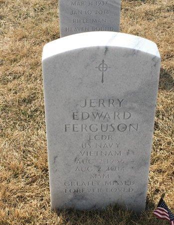 FERGUSON, JERRY - Sarpy County, Nebraska | JERRY FERGUSON - Nebraska Gravestone Photos