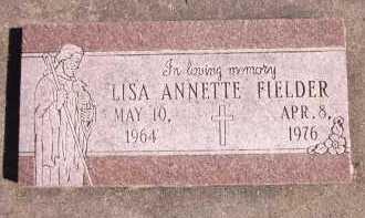 FIELDER, LISA ANNETTE - Sarpy County, Nebraska | LISA ANNETTE FIELDER - Nebraska Gravestone Photos