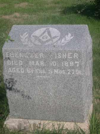 FISHER, EBENEZER - Sarpy County, Nebraska | EBENEZER FISHER - Nebraska Gravestone Photos