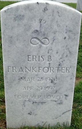FRANKFORTER, ERIS BERDINE - Sarpy County, Nebraska | ERIS BERDINE FRANKFORTER - Nebraska Gravestone Photos