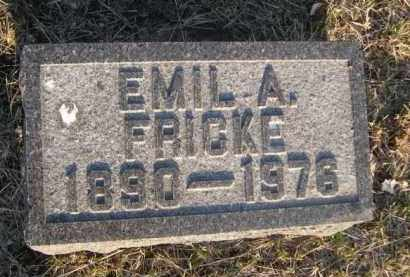FRICKE, EMIL A. - Sarpy County, Nebraska | EMIL A. FRICKE - Nebraska Gravestone Photos