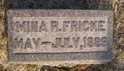 FRICKE, MINA R. - Sarpy County, Nebraska | MINA R. FRICKE - Nebraska Gravestone Photos