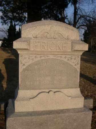 FRICKE, WILLIAM - Sarpy County, Nebraska | WILLIAM FRICKE - Nebraska Gravestone Photos