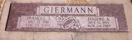 GIERMANN, EUGENE A. - Sarpy County, Nebraska | EUGENE A. GIERMANN - Nebraska Gravestone Photos