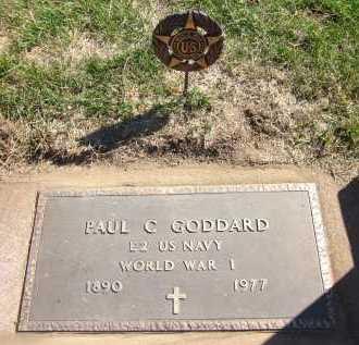 GODDARD, PAUL C. - Sarpy County, Nebraska   PAUL C. GODDARD - Nebraska Gravestone Photos