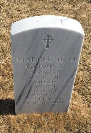 GOWING, MADELENE - Sarpy County, Nebraska | MADELENE GOWING - Nebraska Gravestone Photos