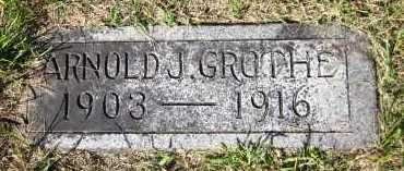 GROTHE, ARNOLD J. - Sarpy County, Nebraska   ARNOLD J. GROTHE - Nebraska Gravestone Photos