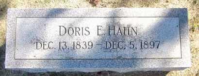 HAHN, DORIS E. - Sarpy County, Nebraska   DORIS E. HAHN - Nebraska Gravestone Photos
