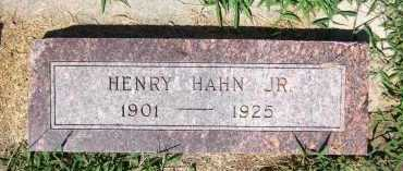 HAHN, HENRY, JR. - Sarpy County, Nebraska | HENRY, JR. HAHN - Nebraska Gravestone Photos