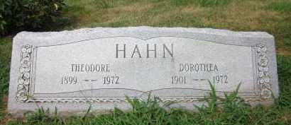 HAHN, DOROTHEA - Sarpy County, Nebraska | DOROTHEA HAHN - Nebraska Gravestone Photos
