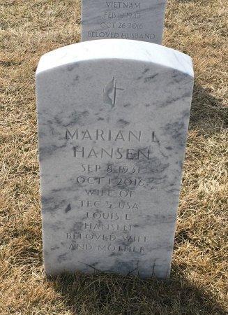 HANSEN, MARIAN - Sarpy County, Nebraska | MARIAN HANSEN - Nebraska Gravestone Photos