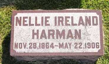 HARMAN, NELLIE - Sarpy County, Nebraska | NELLIE HARMAN - Nebraska Gravestone Photos