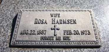 HARMSEN, ROSA - Sarpy County, Nebraska | ROSA HARMSEN - Nebraska Gravestone Photos