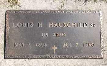 HAUSCHILD, LOUIS H., SR. - Sarpy County, Nebraska | LOUIS H., SR. HAUSCHILD - Nebraska Gravestone Photos