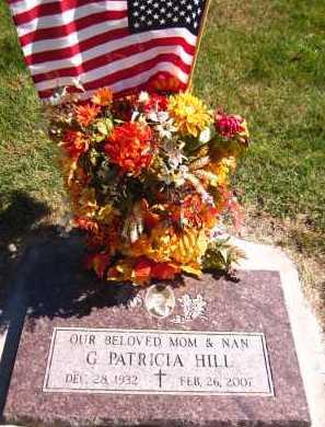 HILL, G. PATRICIA - Sarpy County, Nebraska | G. PATRICIA HILL - Nebraska Gravestone Photos