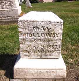 HOLLOWAY, MAY - Sarpy County, Nebraska   MAY HOLLOWAY - Nebraska Gravestone Photos