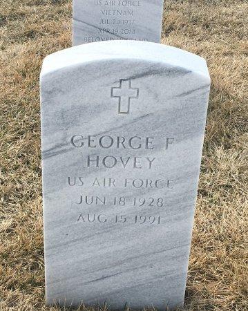 HOVEY, GEORGE - Sarpy County, Nebraska | GEORGE HOVEY - Nebraska Gravestone Photos