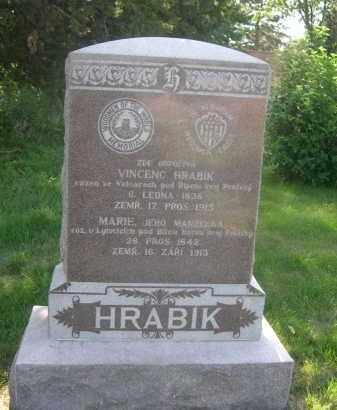 HRABIK, VINCENC - Sarpy County, Nebraska | VINCENC HRABIK - Nebraska Gravestone Photos