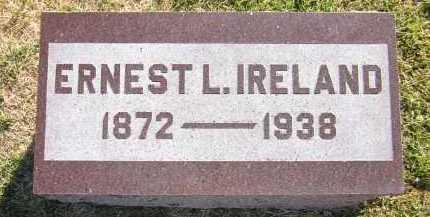 IRELAND, ERNEST L. - Sarpy County, Nebraska | ERNEST L. IRELAND - Nebraska Gravestone Photos