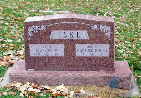 ISKE, GERTRUDE - Sarpy County, Nebraska | GERTRUDE ISKE - Nebraska Gravestone Photos
