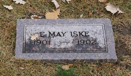 ISKE, E. MAY - Sarpy County, Nebraska | E. MAY ISKE - Nebraska Gravestone Photos