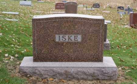 ISKE, FAMILY - Sarpy County, Nebraska   FAMILY ISKE - Nebraska Gravestone Photos