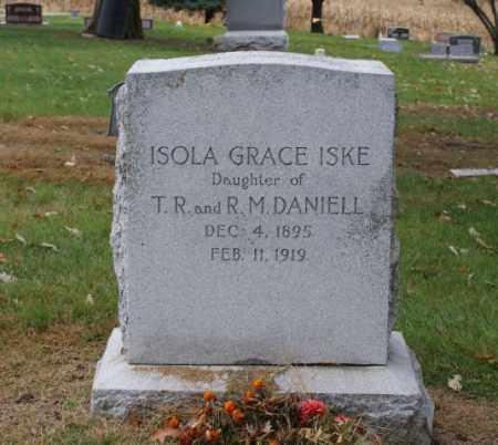 ISKE, ISOLA GRACE - Sarpy County, Nebraska | ISOLA GRACE ISKE - Nebraska Gravestone Photos