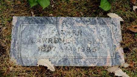 ISKE, LAWRENCE - Sarpy County, Nebraska   LAWRENCE ISKE - Nebraska Gravestone Photos