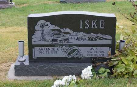 ISKE, LAWRENCE G. - Sarpy County, Nebraska   LAWRENCE G. ISKE - Nebraska Gravestone Photos