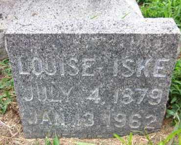 ISKE, LOUISE - Sarpy County, Nebraska   LOUISE ISKE - Nebraska Gravestone Photos