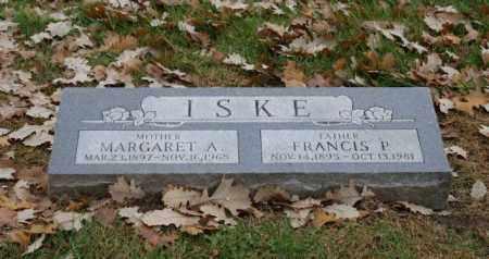 ISKE, FRANCIS P. - Sarpy County, Nebraska | FRANCIS P. ISKE - Nebraska Gravestone Photos