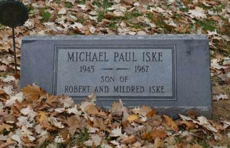 ISKE, MICHAEL PAUL - Sarpy County, Nebraska | MICHAEL PAUL ISKE - Nebraska Gravestone Photos