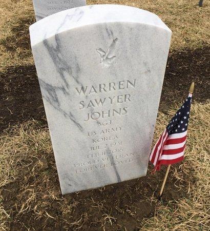 JOHNS, WARREN SAWYER - Sarpy County, Nebraska | WARREN SAWYER JOHNS - Nebraska Gravestone Photos