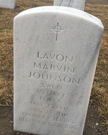 JOHNSON, LAVONE - Sarpy County, Nebraska   LAVONE JOHNSON - Nebraska Gravestone Photos