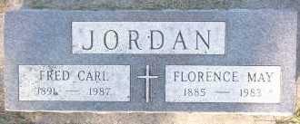 JORDAN, FRED CARL - Sarpy County, Nebraska   FRED CARL JORDAN - Nebraska Gravestone Photos