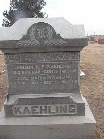 KAEHLING, LUISE MARIA - Sarpy County, Nebraska | LUISE MARIA KAEHLING - Nebraska Gravestone Photos