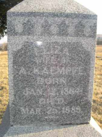 KAEMPFE, LEIZA - Sarpy County, Nebraska | LEIZA KAEMPFE - Nebraska Gravestone Photos
