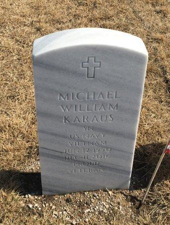 KARAUS, MICHAEL - Sarpy County, Nebraska | MICHAEL KARAUS - Nebraska Gravestone Photos