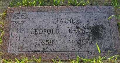 KARBOWSKI, LEOPOLD I. - Sarpy County, Nebraska | LEOPOLD I. KARBOWSKI - Nebraska Gravestone Photos