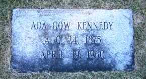 GOW KENNEDY, ADA - Sarpy County, Nebraska   ADA GOW KENNEDY - Nebraska Gravestone Photos