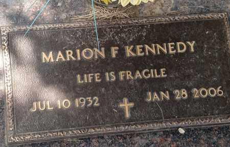 KENNEDY, MARION - Sarpy County, Nebraska   MARION KENNEDY - Nebraska Gravestone Photos