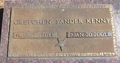 KENNY, GRETCHEN - Sarpy County, Nebraska   GRETCHEN KENNY - Nebraska Gravestone Photos
